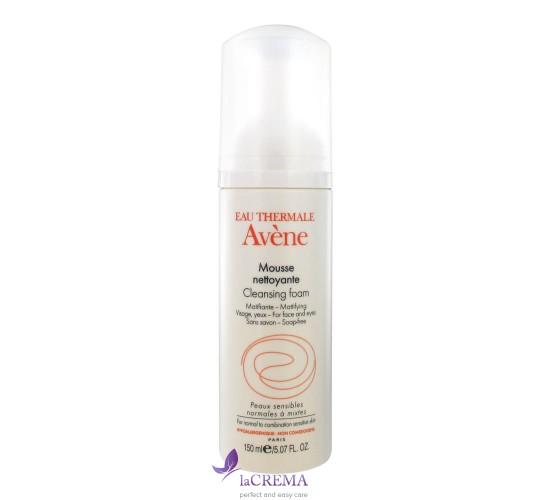 Avene Очищающий мусс для нормальной и комбинированной кожи, 150 мл