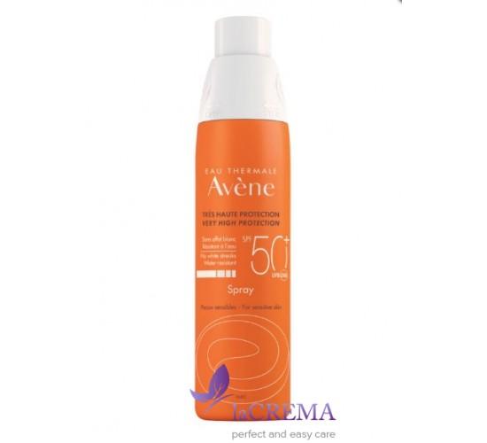 Avene Солнцезащитный спрей Авен - Sun Care SPF 50+ Spray, 200 мл