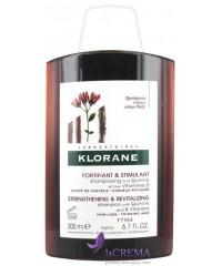 Klorane Шампунь укрепляющий с хинином и витамином В