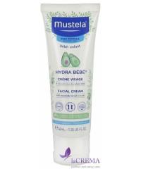 Мустела Увлажняющий крем для лица - Mustela Hydra-Bebe Face, 40 мл