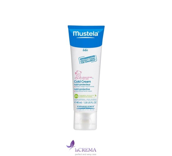Mustela Крем от ветра и холода - Cold Cream Nutri-Protective, 40 мл