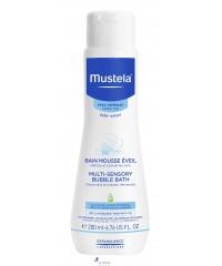 Мустела Пена для ванны - Mustela Bebe Multi-Sensory Bubble Bath, 200 мл
