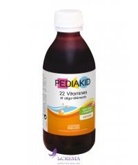 Pediakid Сироп для здорового физического развития: 22 витамина и олиго-элемента, 250 мл