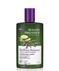 Avalon Organics Увлажняющий тоник с экстрактом лаванды и пребиотиками