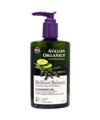 Avalon Organics Гель для умывания с экстрактом лаванды  и пребиотиками