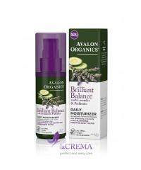 Avalon Organics Дневное увлажняющее средство с экстрактом лаванды и пребиотиками
