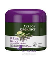 Avalon Organics Ночной крем с экстрактами лаванды и пребиотиками
