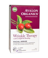 Avalon Organics Сыворотка против морщин с коэнзимом Q10 и маслом шиповника
