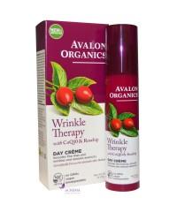 Avalon Organics Крем дневной против морщин с коэнзимом Q10 и маслом шиповника