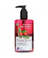 Avalon Organics Очищающее масло против морщин с коэнзимом Q10 и маслом шиповника