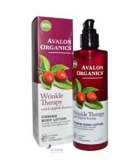 Avalon Organics Лосьон для тела для упругости кожи против морщин с коэнзимом Q10 и маслом шиповника