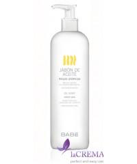 Babe Laboratorios Масляное мыло для сухой проблемной кожи-Oil Soap, 500 мл