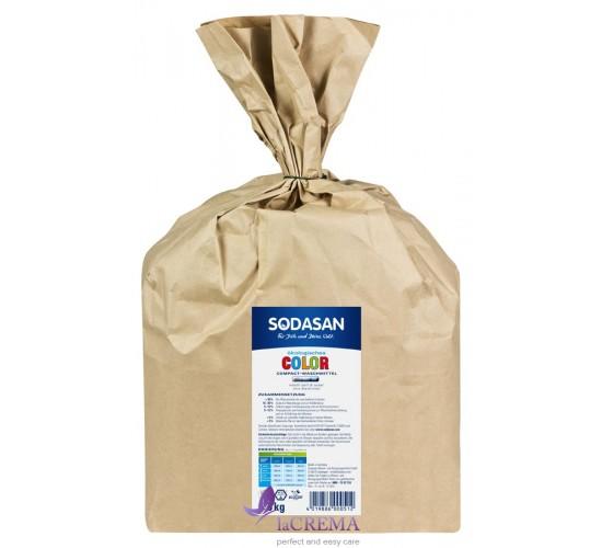 SODASAN Стиральный порошок-концентрат Compact для стирки цветных и черных вещей