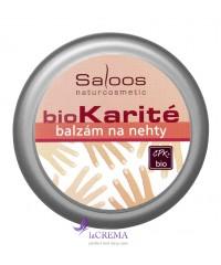 Saloos Бальзам Bio Karite Для ногтей
