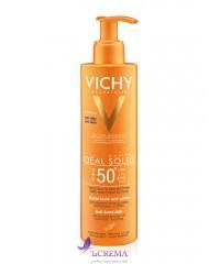 Виши Идеаль Солей Солнцезащитное молочко-флюид Анти-песок (Vichy Idéal Soleil l), 50 мл