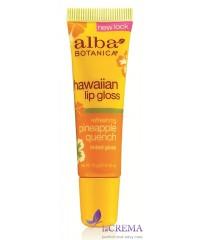 Альба Ботаника Блеск для губ «Гавайский - Ананас» - Alba Botanica,12 г