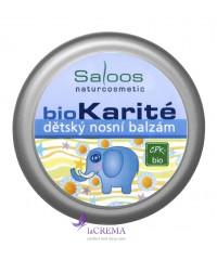 Saloos Бальзам Bio Karite Детский бальзам для носика