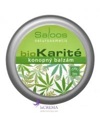 Saloos Бальзам Bio Karite Конопля