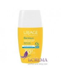 Uriage Солнцезащитный ультра-легкий флюид Bariesun SPF 50+, 30 мл