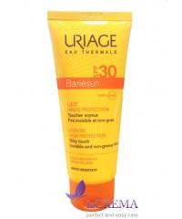 Uriage Солнцезащитное молочко для тела Bariesun SPF 30+, 100 мл