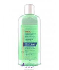 Ducray Sabal Шампунь себорегулирующий для жирных волос - Дюкрей Сабаль, 200 мл