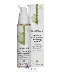 Derma E Сыворотка снимающая покраснение для чувствительной кожи