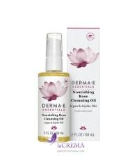 Derma E Essentials Питательное очищающее масло розы, 60 мл