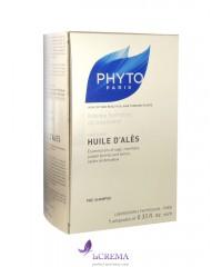 Фито Масло Алеса для интенсивного увлажнения волос - Phyto Huile D'Ales, 5х10 мл