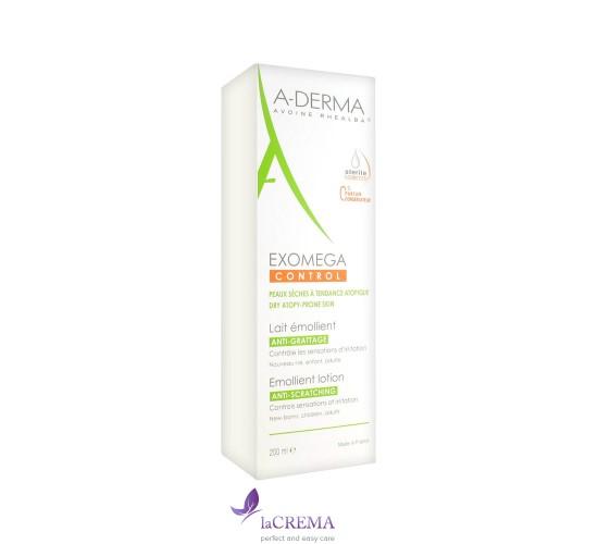 А-Дерма Экзомега Молочко для сухой, атопической кожи - Exomega Emollient Milk, 200 мл