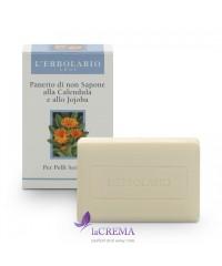 Лерболарио Нещелочное мыло с Календулой и Жожоба -  L'Erbolario, 100 г