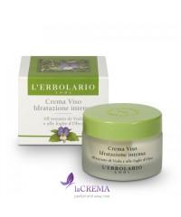 Лерболарио Крем для лица Интенсивное увлажнение -  L'Erbolario, 50 мл