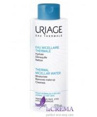 Uriage Мицеллярная термальная вода для сухой, нормальной кожи Урьяж, 500 мл