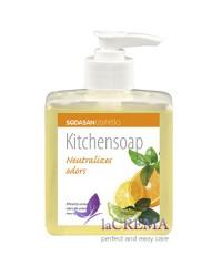 SODASAN Органическое кухонное мыло для нейтрализации запахов, 0,3 л