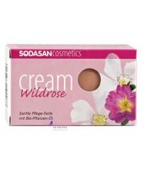 SODASAN Органическое мыло-крем для лица и тела