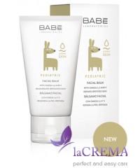 Babe Laboratorios Детский восстанавливающий бальзам для лица - Facial Balm, 50 мл