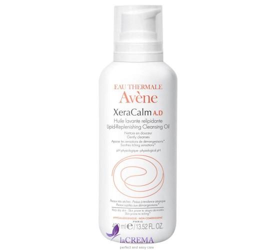 Avene КсераКальм Очищающее масло для сухой и атопичной кожи -  Lipid-Replenishing Cleansin, 400 мл