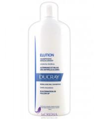 Ducray Elution Шампунь для чувствительной кожи - Дюкрей Элюсьон, 400 мл