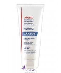 Ducray Argeal Себорегулирующий шампунь Аргеаль для жирных волос для частого применения, 200 мл