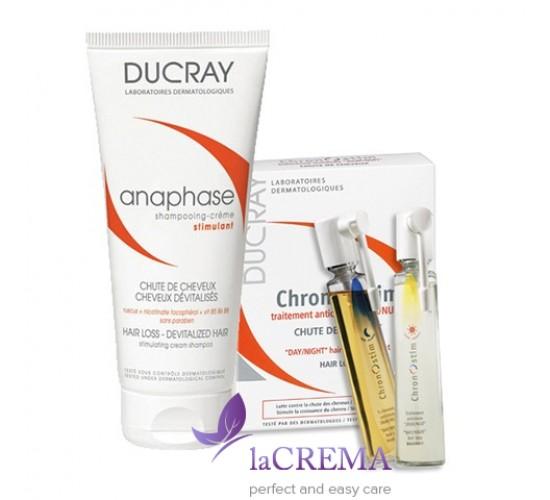 Дюкрей НАБОР Хроностим Лосьон + Анафаз шампунь для лечения выпадения волос
