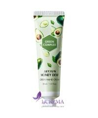 Jayjun Крем для рук увлажняющий с авокадо - Honey Dew Green Hand Cream