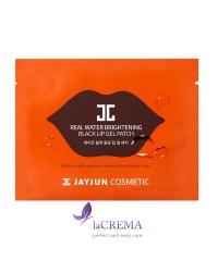 Jayjun Гелевые патчи для губ Real Water Brightening Black Lip Gel Patch, 5 шт