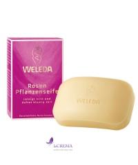 Веледа Розовое питательное мыло - Weleda Rosen Pflanzenseife
