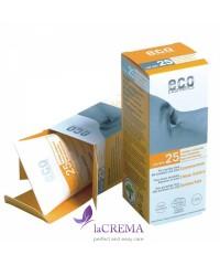 ECO-Cosmetics Солнцезащитный крем SPF 25 с экстрактом граната и облепихи, 75 мл