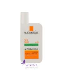 La Roche-Posay Антгелиос AC Солнцезащитная эмульсия для жирной кожи с SPF 30 - Anthelios AS, 50 мл