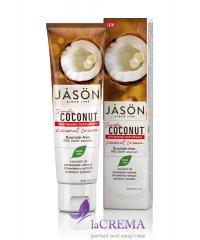 Jason Oral Отбеливающая зубная паста с маслом кокоса, 119 г