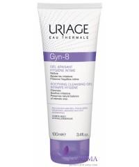 Uriage Жин-8 успокаивающий гель для интимной гигиены Gyn-8, 100 мл