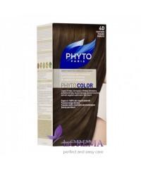 Фито Краска для волос Фитоколор, 4D Русо-каштановый золотистый - Phyto Color