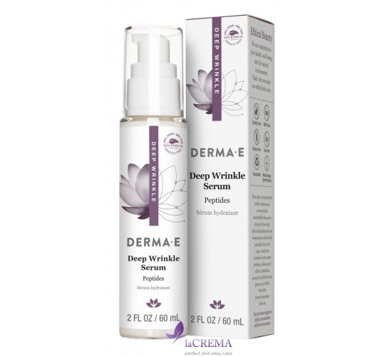 Derma E Восстанавливающая сыворотка с пептидами и коллагеном, 60 мл