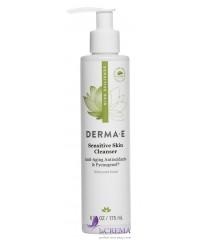 Derma E Sensitive Средство для умывания с пикногенолом для чувствительной кожи, 175 мл