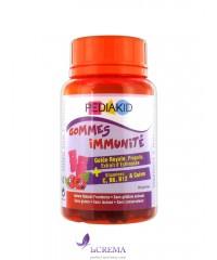 Pediakid Медвежуйки Иммунитет - Gommes Immunité, 60 шт